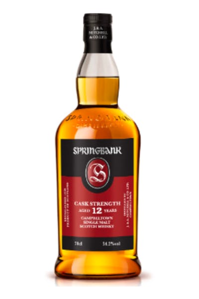 Springbank 12 Year Cask Strength