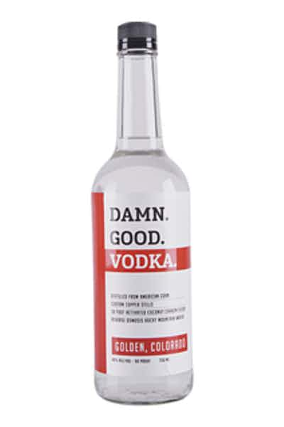 State 38 Damn Good Vodka