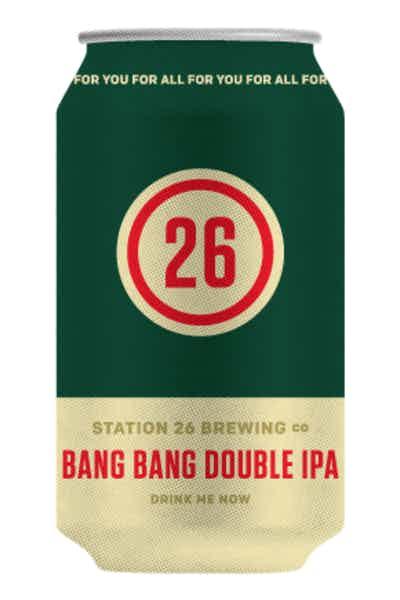 Station 26 Bang Bang Double IPA