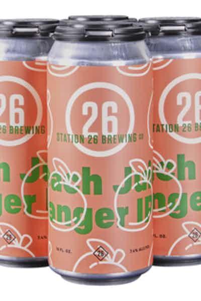 Station 26 Peach Juicy Banger IPA