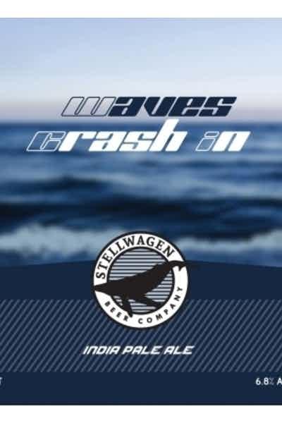 Stellwagen Waves Crash In