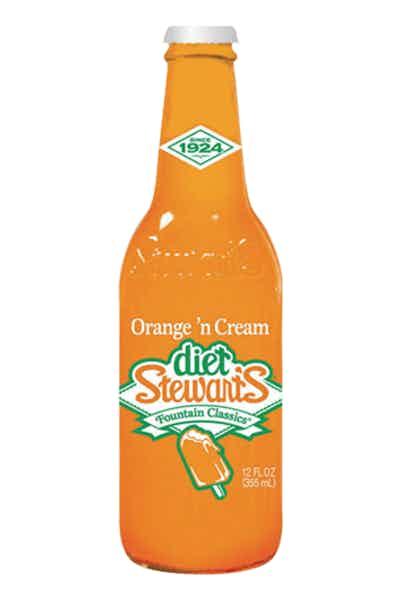Stewart's Diet Orange N Cream