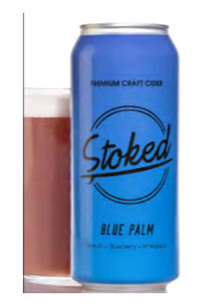 Stoked Blue Palm