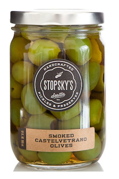Stopsky's Smoked Olives