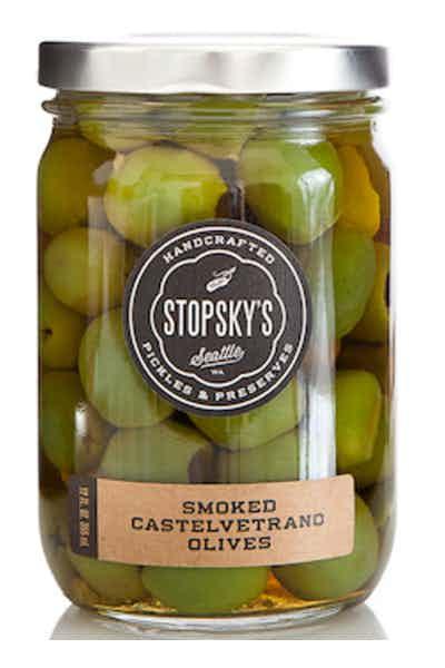 Stopsky's Smoked Olives