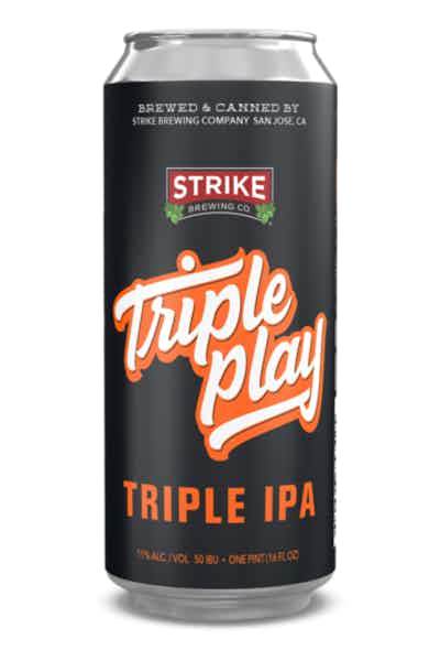 Strike Brewing Triple Play Triple IPA