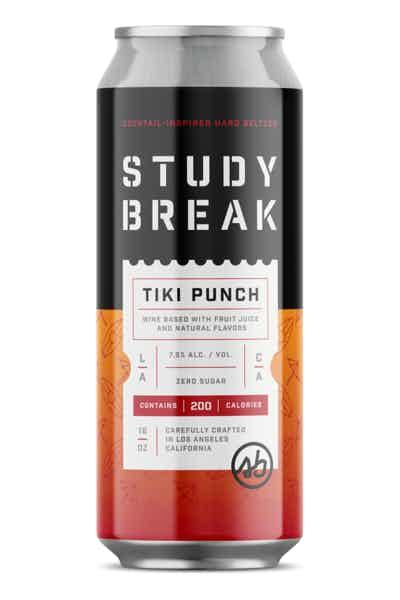 Study Break Tiki Punch Hard Seltzer