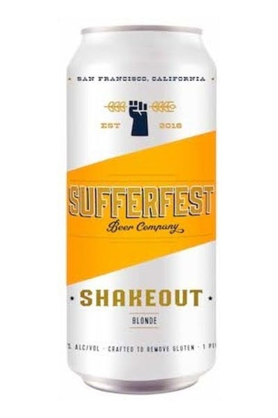 Sufferfest Shakeout Blonde Ale
