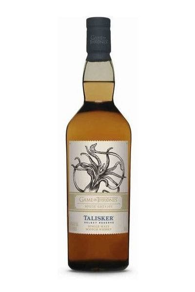 Talisker Game of Thrones House Greyjoy Select Reserve Single Malt Scotch Whisky
