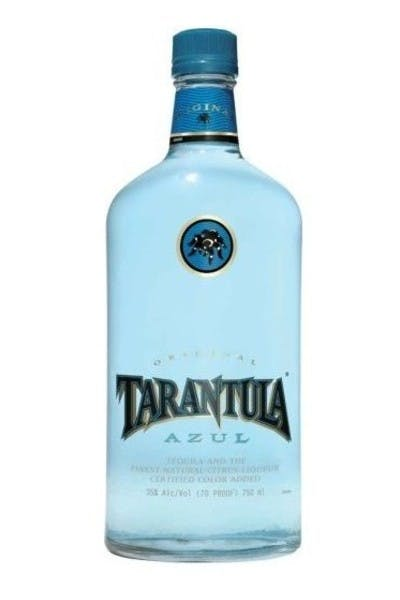 Tarantula Azul Tequila With Two Shot Glasses