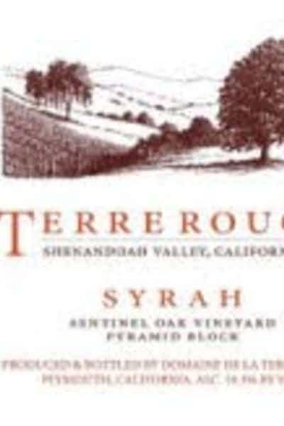 Terre Rouge Sentinel Oak Vineyard, Pyramid Block Syrah