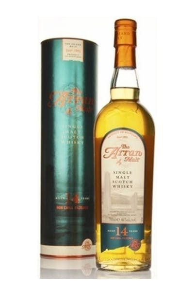 The Arran 14 Year Single Malt Scotch