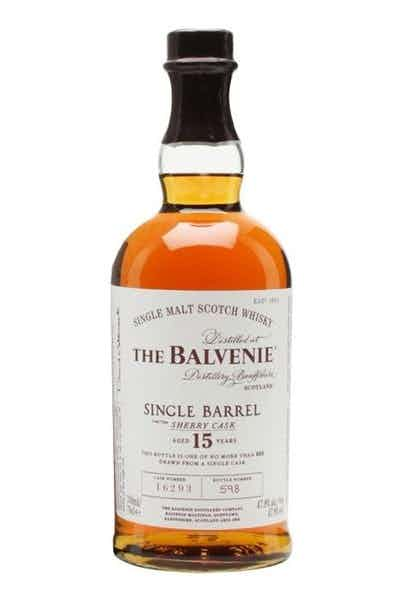 The Balvenie 15 Year Old Sherry Cask Single Barrel Scotch Whisky