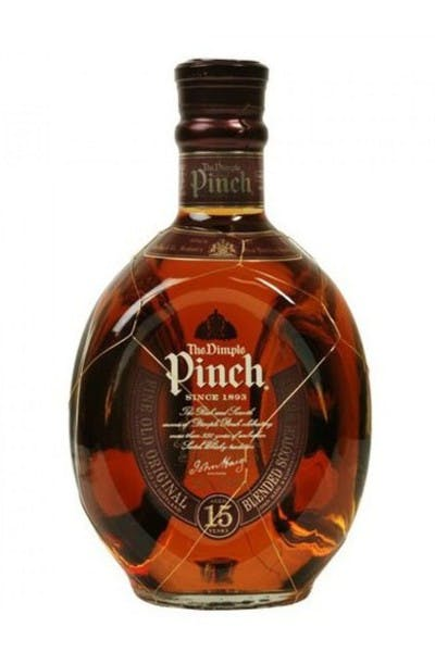 The Dimple Pinch 15 Year Whiskey