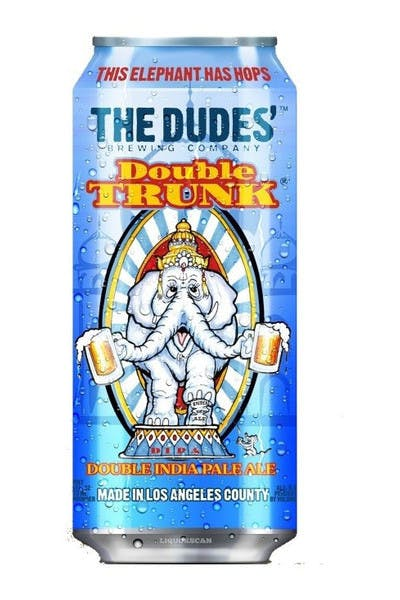 The Dudes' Double Trunk Double IPA