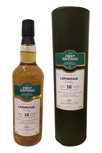 The First Editions Laphroaig 16 Year Old Single Malt Scotch Whisky