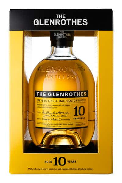 The Glenrothes 10 Year Old Single Malt Scotch Whisky
