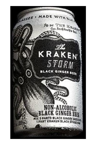 The Kraken Storm Black Ginger Beer