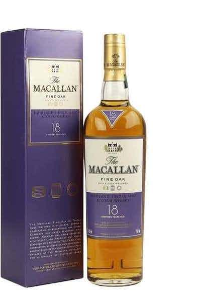 The Macallan Fine Oak 18 Years Old