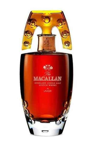 The Macallan in Lalique 55 Year