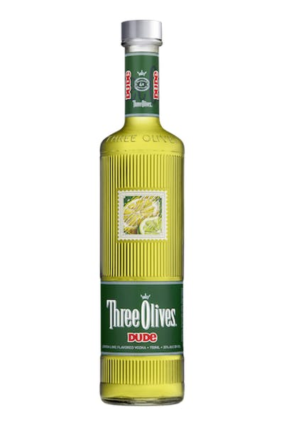 Three Olives Dude Lemon Lime Vodka