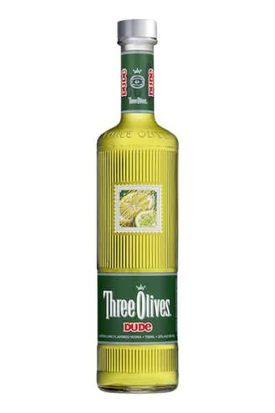 Three Olives Dude Lemon Lime Vodka