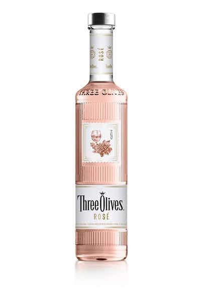 Three Olives Rosé Vodka   Drizly