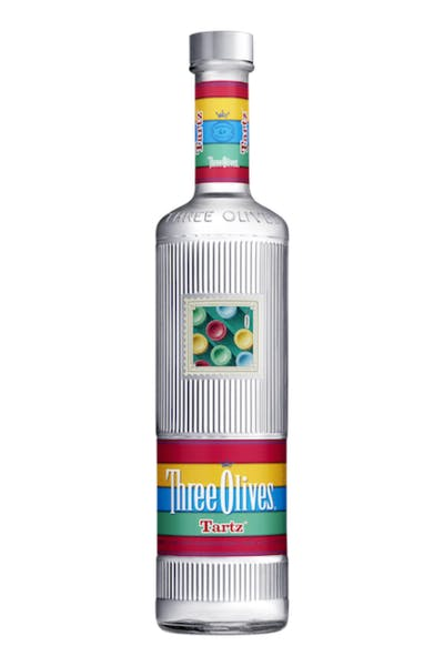 Three Olives Tartz Vodka