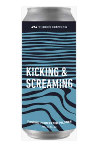 Threes Brewing Kicking & Screaming