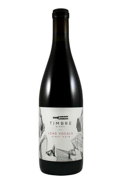 Timbre Lead Vocals Pinot Noir