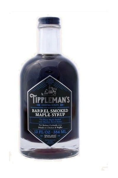 Tippleman's Barrel Smoked Maple Syrup 13oz