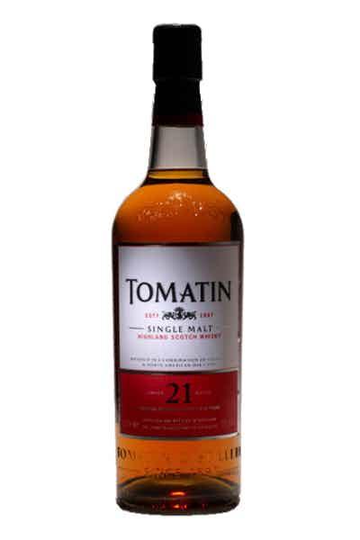 Tomatin 21 Year Single Malt