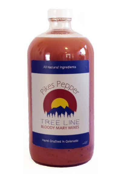 Tree Line Pikes Pepper Bloody Mary Mix