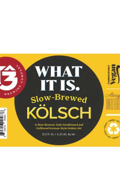 Trinity Brewing What It Is Kolsch