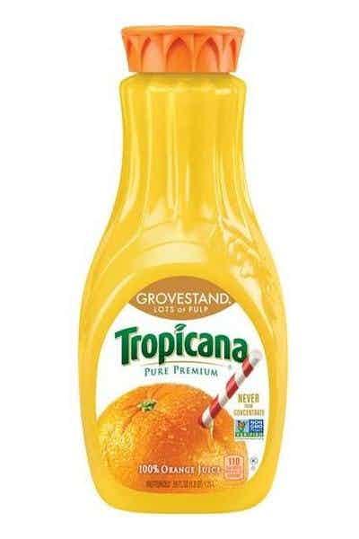 Tropicana Pure Premium Orange Juice (Grovestand)