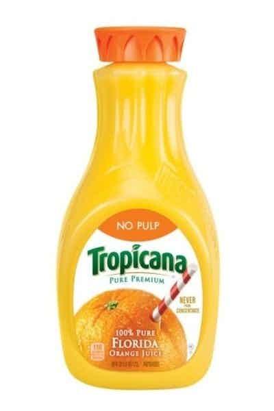 Tropicana Pure Premium Orange Juice (No Pulp)