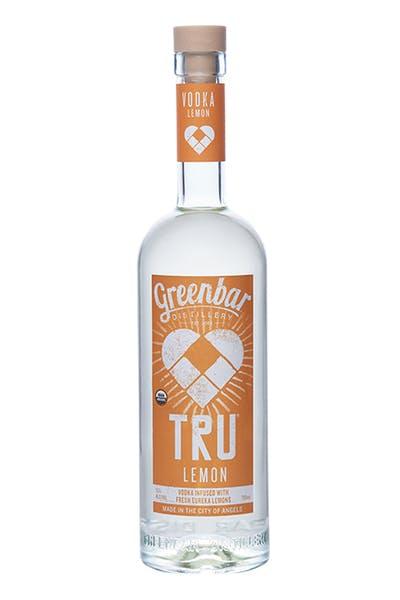 Tru Lemon Vodka from Greenbar Distillery