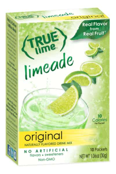 True Citrus Lime Powdered Drink Mix