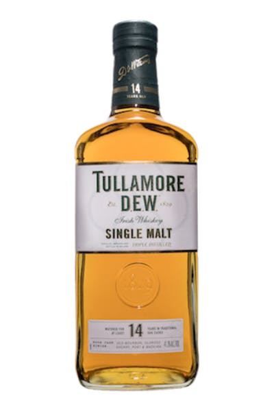 Tullamore Dew 14 Year Single Malt Irish Whiskey