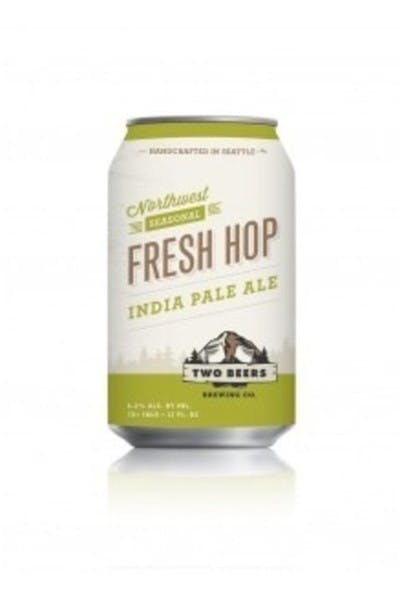 Two Beers Fresh Hop IPA
