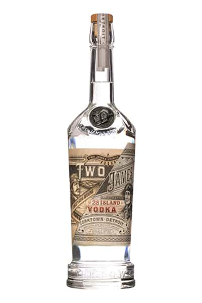Two James 28 Island Vodka
