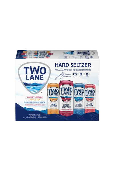 Two Lane Seltzer Spiked Sparking Water Variety Pack