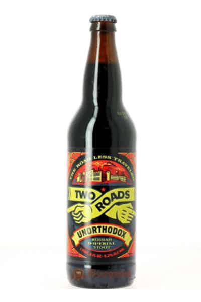 Two Roads Unorthodox Imperial Stout