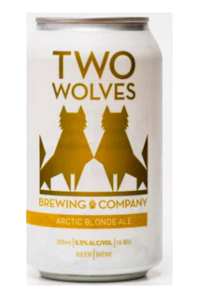 Two Wolves Arctic Blonde Ale