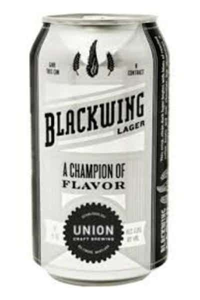 Union Craft Blackwing Lager