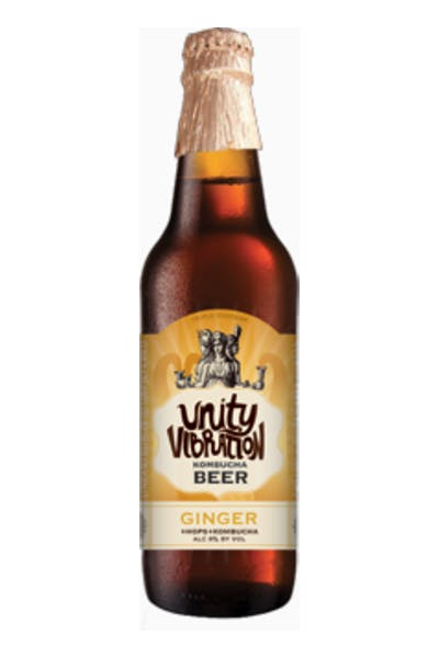 Unity Vibration Kombucha Ginger Brew