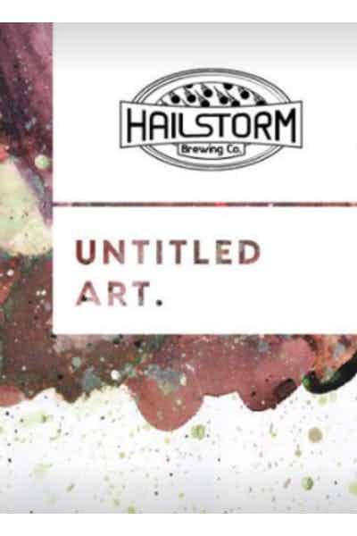 Untitled Art/Hailstorm Waffle Stout
