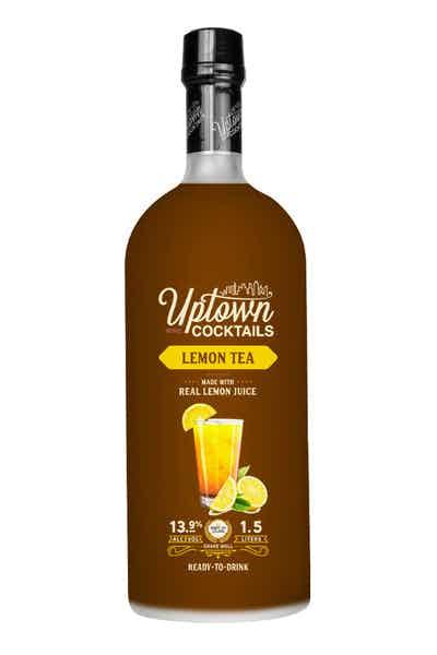 Uptown Wine Cocktails Lemon Tea