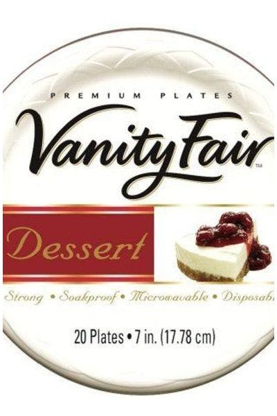 Vanity Fair Paper Plates