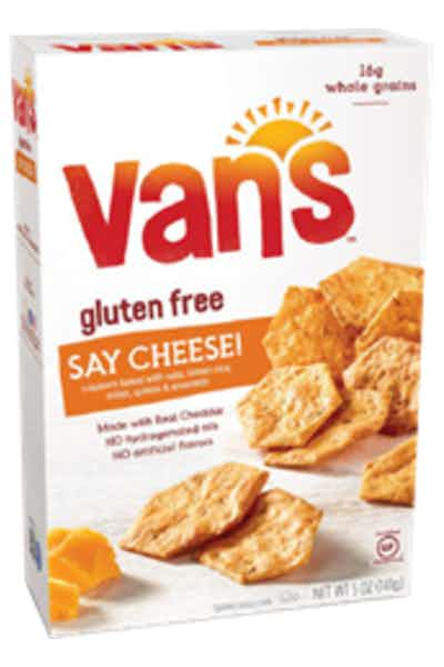 Van's Gluten Free Cheese Crackers